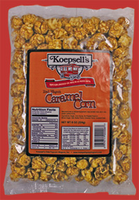 Red Wagon Carmel Corn