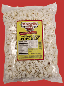 Traditional Flavor White Popcorn