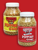 Koepsell's Popping Corn - White Rice and Yellow Popcorn Kernals